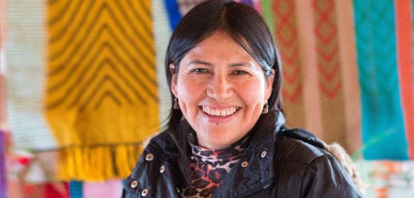 Noemí Peña, telarista: Enseñar a otros es una bendición