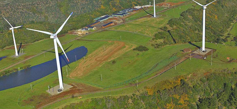 Primer Parque Eólico en Chile de una Industria Manufacturera