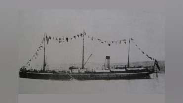 El naufragio del Angamos a la cuadra de Lebu