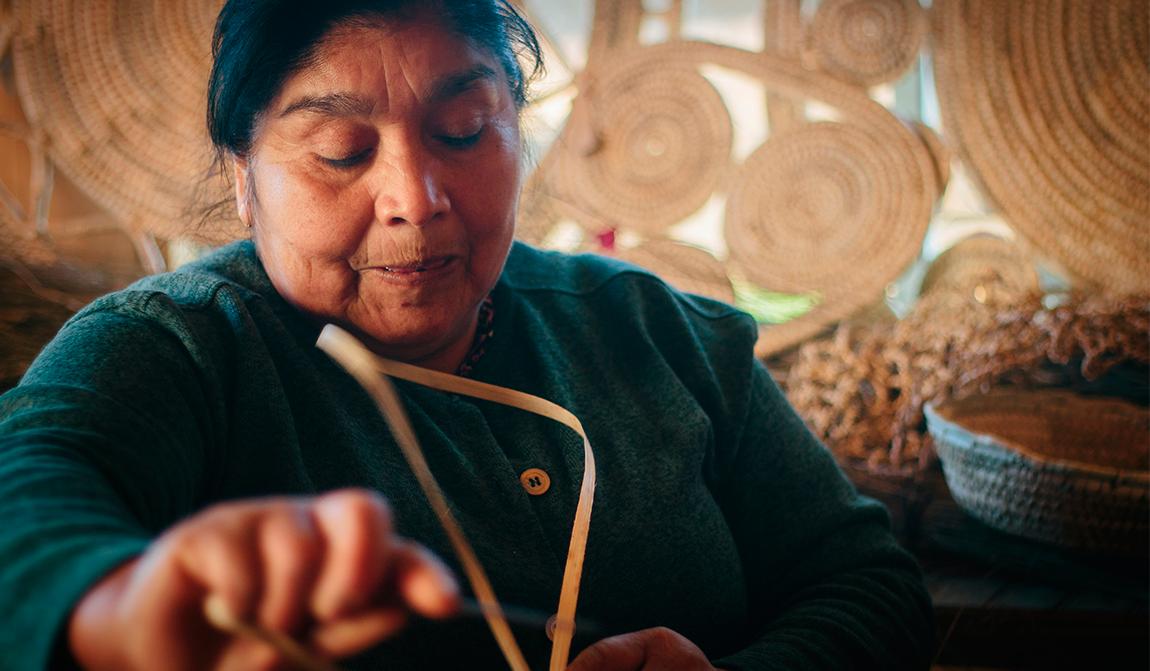 Artesanía en Ñocha, una actividad que se niega a desaparecer