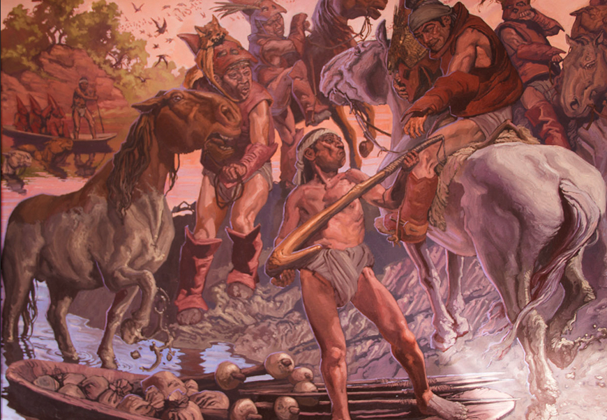Reconstituyendo un mundo de usos y costumbres a través de la pintura basada en la crónica e historia: El aporte del pintor Álvaro Pardo