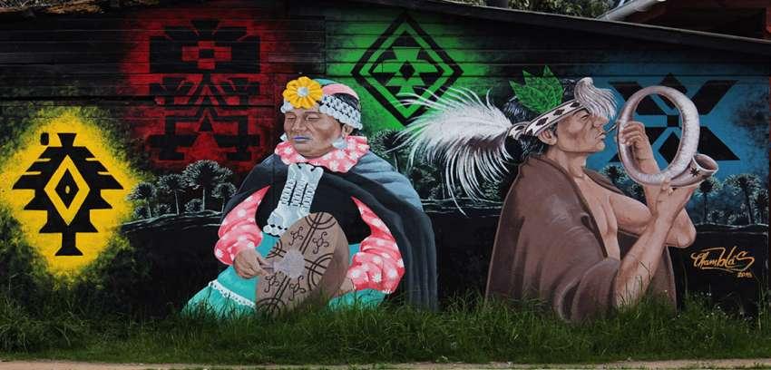 Ruta por los murales de la provincia de arauco